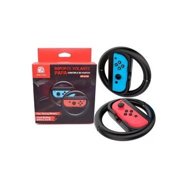 Suporte Volante para Nintendo Switch Joy-Con Controle Grip Par 2 Unid