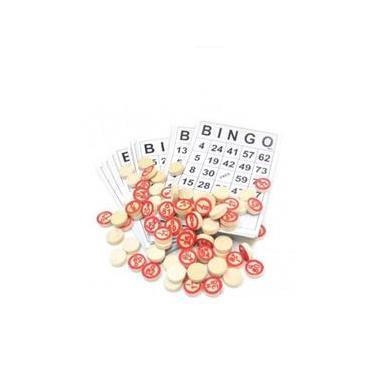 Imagem de Jogo Bingo Loto Cartelas Pedras