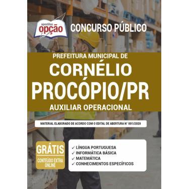 Imagem de Apostila Prefeitura Cornélio Procópio - Auxiliar Operacional