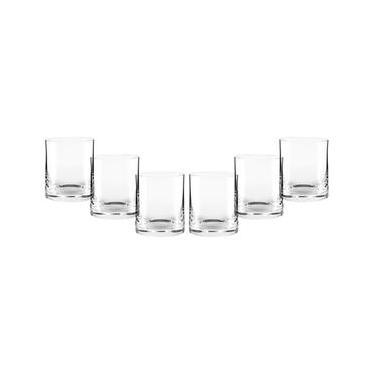 Conjunto de Copos de Cristal On The Rocks Oxford Crystal Classic 340 410ml  – 6 Peças f344931e70630