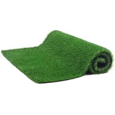 Imagem de Yummoo Tapete de grama artificial sintético sintético grama grama grama sintética sintética tapete tapete de grama grama para ambientes internos, externos, pátio, jardim, gramado, varanda