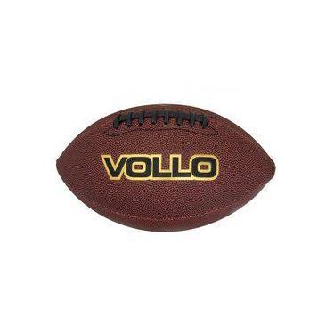 6299a0161 Bola de Futebol Americano VOLLO VF001 PVC Marrom