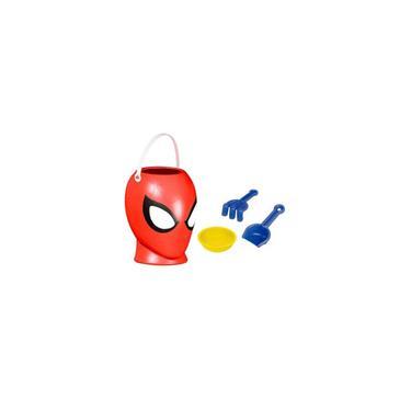 Imagem de Balde De Praia 3D Homem Aranha Com Acessórios Rosita
