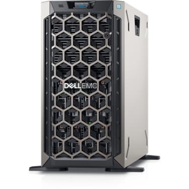 """Servidor Dell PowerEdge T340 poweredge-t340 pe_t340_13159_bcc_1 Intel® Celeron G4930 3.2GHz, 2M cache, 2C/2T, no turbo (54W) 8 GB de UDIMM DDR4 ECC a 2.666 MT/s, BCC SSD SATA de 2,5"""", 480 GB, 6 Gbit/s e 512 com unidade de conector automático AG, uso intenso de leitura e carregador híbrido de 3,5"""""""