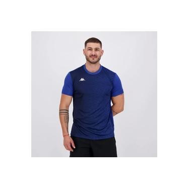 Camisa Kappa Campbell Azul