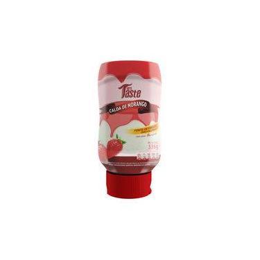 Calda de Morango zero calorias - Mrs Taste