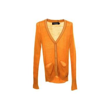 Casaco Tricot Amarelo Teen