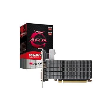 Imagem de Placa de Vídeo AMD Afox Radeon R5 220 1024MB DDR3 64 Bits VGA DVI HDMI - AFR5220-1024D3L5-V2