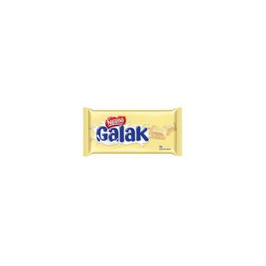 Kit Com 06 Barras Chocolate Galak Branco Nestle 90G