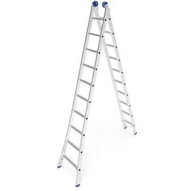 Imagem de Escada De Alumínio Mor Extensiva, 20 Degraus - 5206