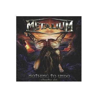 Imagem de CD - Metalium - Nothing to Undo - Chapter Six