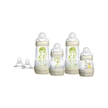 Kit MAM 04 Mamadeiras First Bottle e 2 Bicos Gift Set