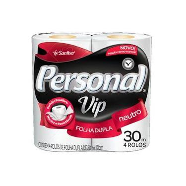 Papel Higienico Personal Vip F. D.neutro 04x30 Mts