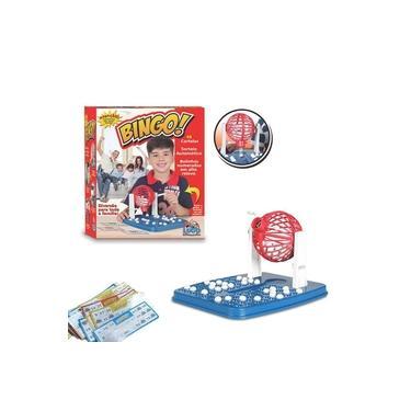 Imagem de Jogo De Bingo Roleta 48 Cartelas 90 Bolinhas Brinquedos