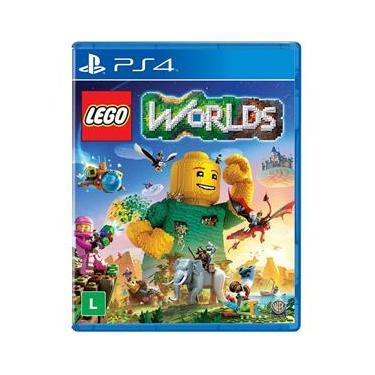 Jogo Warner Lego Worlds PS4