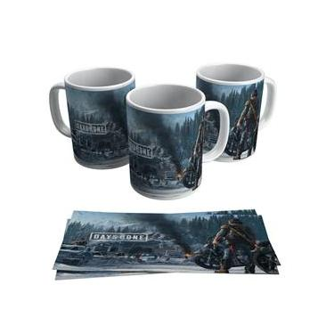 Caneca Days Gone Jogo PS4 Gamer Geek Game