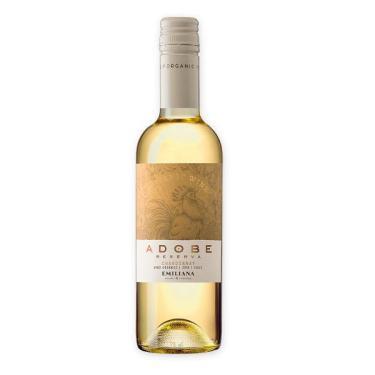 Vinho Emiliana Adobe Chardonnay Branco 375Ml