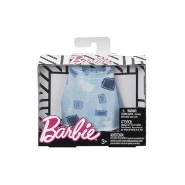 Imagem de Roupa para Boneca Barbie - Saia Azul - Mattel
