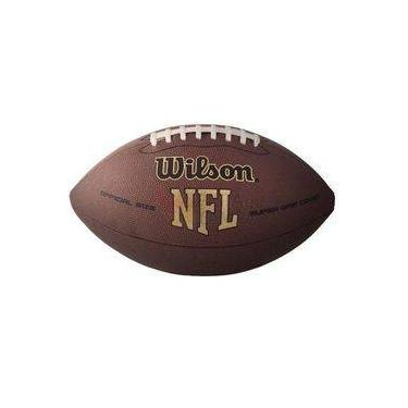 Bola Oficial NFL Super Grip Futebol Americano - Wilson 0f9e24dd104dc