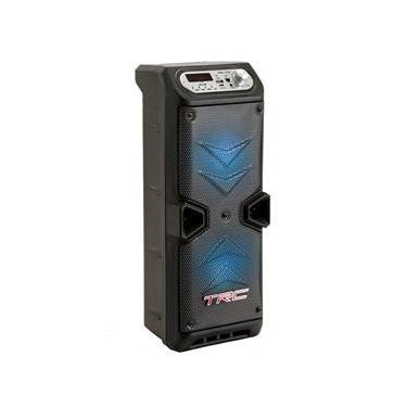 Caixa de Som Amplificada TRC 219 com Bluetooth, Rádio FM, Entrada USB e Controle Remoto – 35W