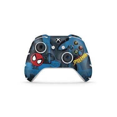 Skin Adesivo para Xbox One Slim X Controle - Homem-Aranha Spider-Man Comics