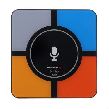 R-TVBOXS10PlusRK33284G / 32G QI Controle de Voz Sem Fio TV Android Caixa