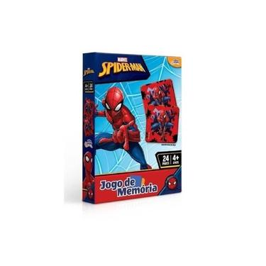 Imagem de Jogo De Memória Marvel Homem Aranha 24 Pares 8016 - Toyster