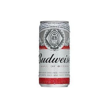 Cerveja Budweiser Lager Lata 269 Ml