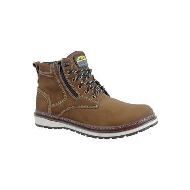 Bota Masculina Casual Urbana Bell Boots Chumbo 835