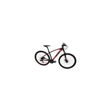 Imagem de Bicicleta Elleven Rocker ii Aro 29 Tam 17 Preto/Vermelho Kit Shimano 24V trava no ombro. ano 2021