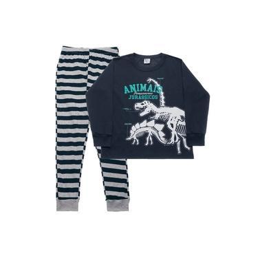 Pijama 1 ao 3 Menino Infantil Pulla Bulla Ref. 42650