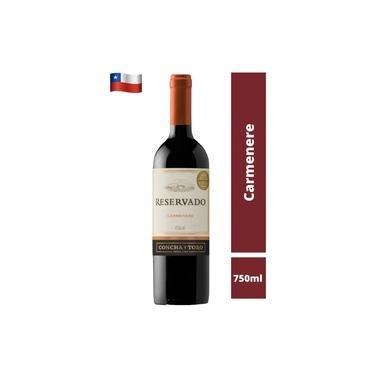 Vinho Tinto Chileno Carmenere Concha Y Toro Reservado 750 ml