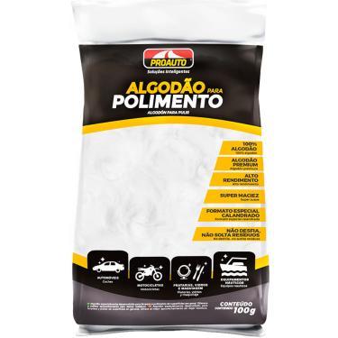 Algodao para Polimento Automotivo Proauto 100g