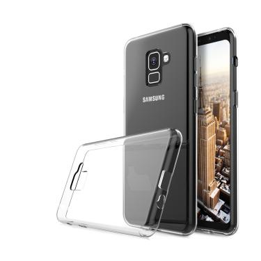 Capa Pelicula de Vidro Galaxy A8 Plus 2018 e Cabo Carregador