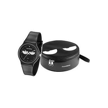 f582f20e91d Relógio Feminino Mondaine Analógico Fashion 46104l0menp1k1 + Bolsa