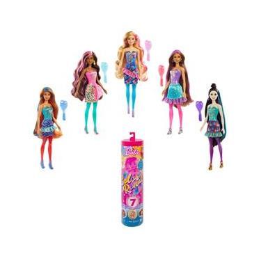 Imagem de Boneca Barbie Color Reveal Festa de Confetti GWC58 Mattel - 32 cm