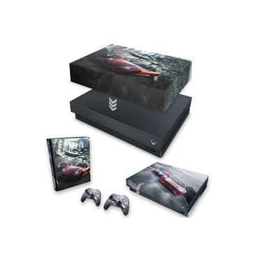 Capa Anti Poeira e Skin para Xbox One X - Need For Speed Rivals