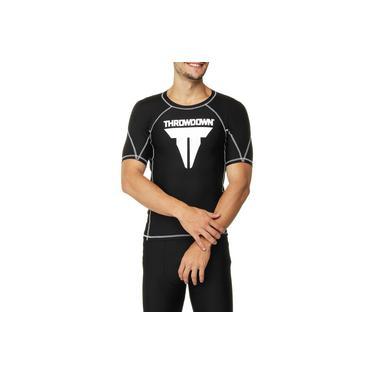 Camiseta Throwdown De Alta Compressão