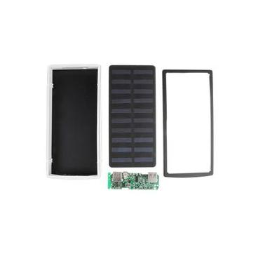 20000 Mah Power Bank Estojo Kit 18650 Carregador De Bateria Solar Diy