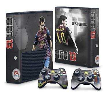 Skin Adesivo para Xbox 360 Super Slim - Fifa 13