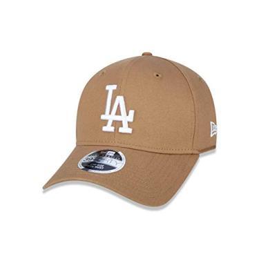 Imagem de BONE 39THIRTY HIGH CROWN MLB LOS ANGELES DODGERS ABA CURVA STRETCH FIT KAKI New Era