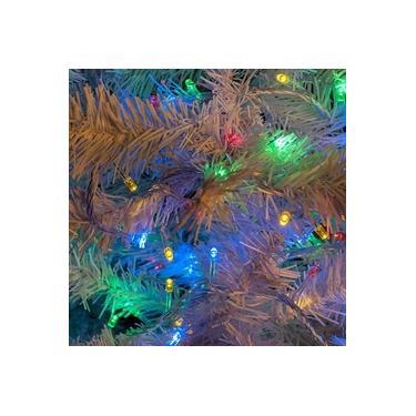 Pisca Pisca Led De 100 Lâmpadas Fio Transparente Colorido