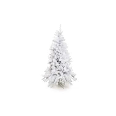 Árvore de Natal Branca Nevada Alpes Grande 180cm 628 Hastes