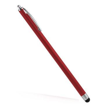 Caneta Stylus capacitiva BoxWave Slimline para iPhone 4S - Apple iPhone 4S Stylus com cilindro mais fino e ponta fina (vermelho carmesim)