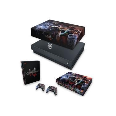 Capa Anti Poeira e Skin para Xbox One X - Killer Instinct