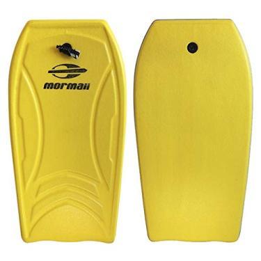 Prancha Bodyboard Amador Grande 103x54cm Amarela Mormaii