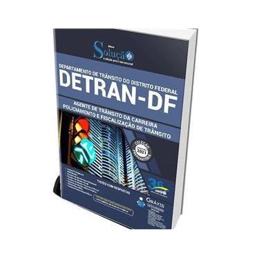 Imagem de Apostila Detran-Df 2021 - Agente De Trânsito