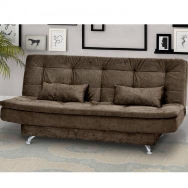48f4eafe991b54 Sofá-Cama R$ 800 ou mais Matrix Marrom | Móveis e Decoração ...