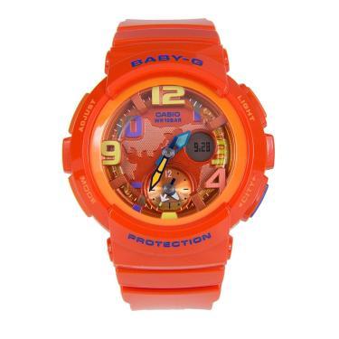 b6c90880776 Relógio Feminino Casio G-Shock Baby-G Analógico Digital BGA-190-4BDR