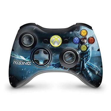 Skin Adesivo Para Xbox 360 Controle - Metal Gear Solid Rising